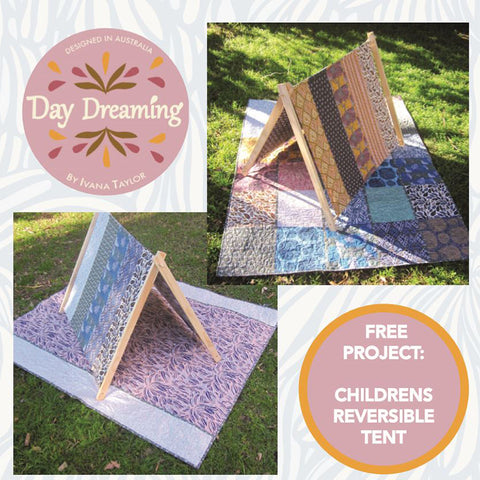 Free Project - Children Reversible Tent, Day Dreaming