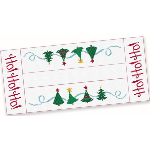 Free Project - Christmas Tree Table Runner