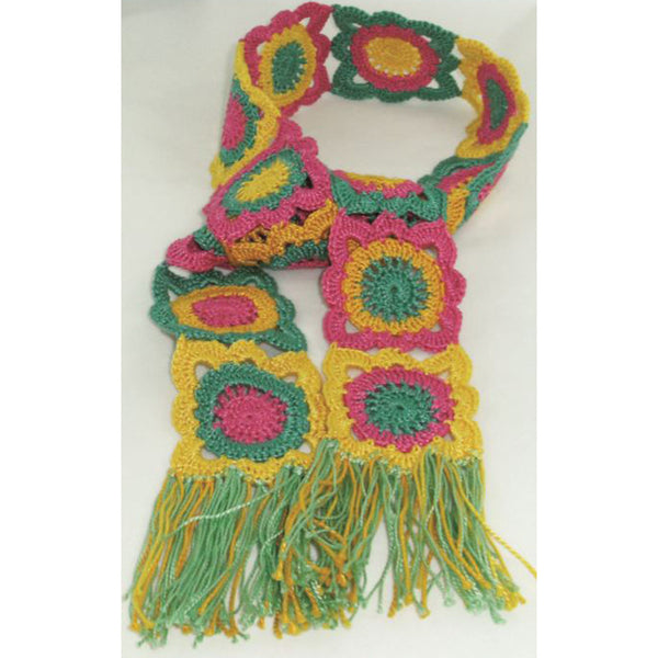 Free Project - Colourful Scarf