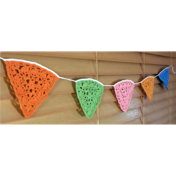 Free Project - Crochet Bunting