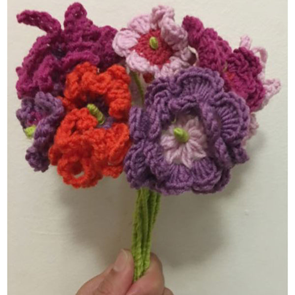 Free Project - Crochet Flowers