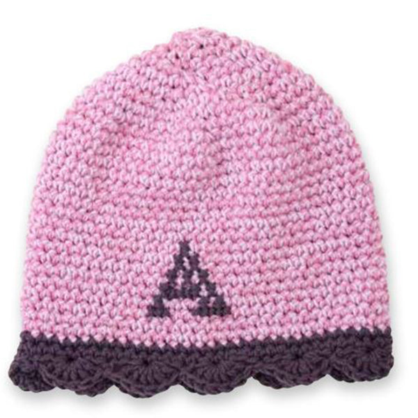 Free Project - Crochet Monogram Beanie