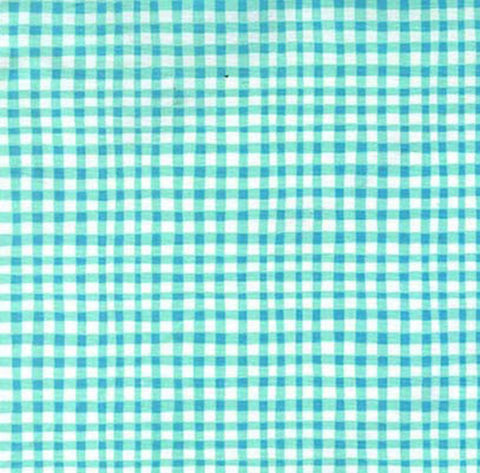 GINGHAM PLAY CX7161-AQUA-D  Aqua