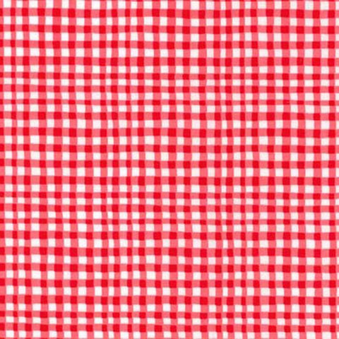 GINGHAM PLAY - CHERRY