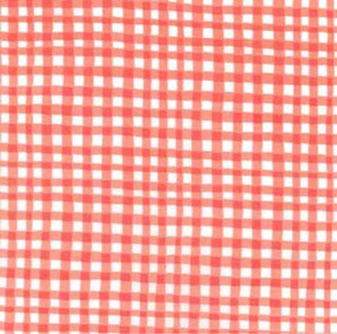 GINGHAM PLAY - CORAL