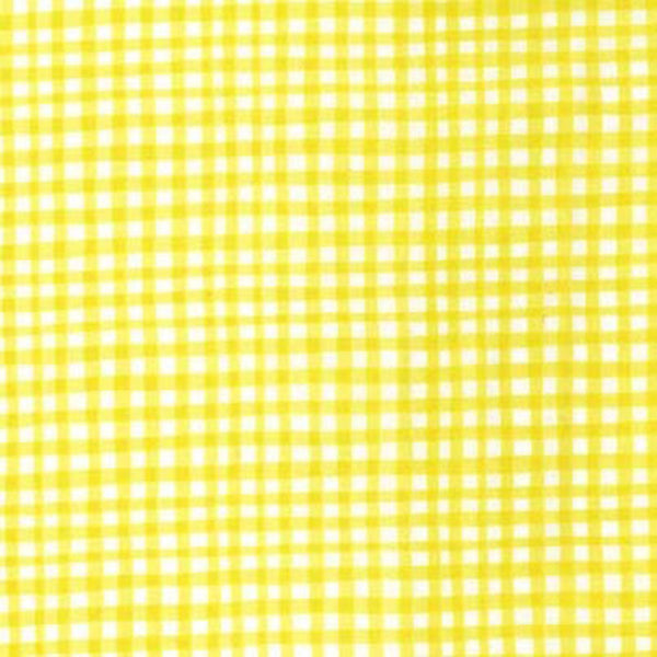 GINGHAM PLAY - LEMON