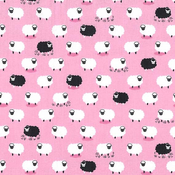 Counting Sheep Following Ewe Girl-CX8369-GIRL