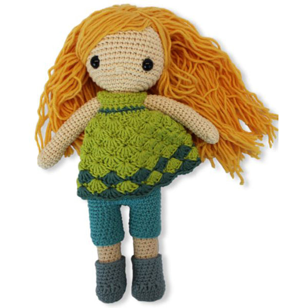 Free Project - Delightful Doll with Green Dress