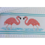 Free Project - Flamingo Towel