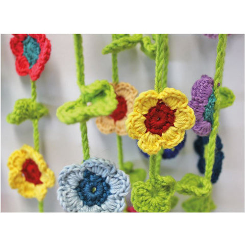 Free Project - Cotton Flower Mobile