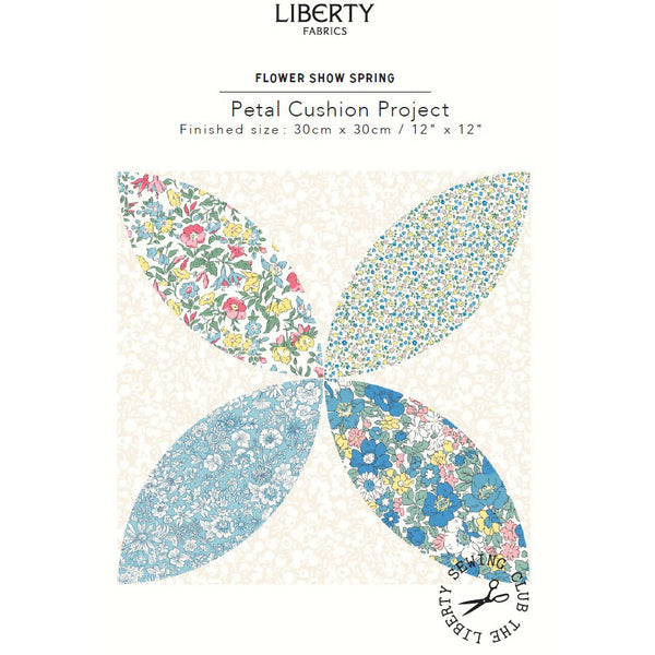 Free Project -  Liberty - Flower Show Spring Cushion