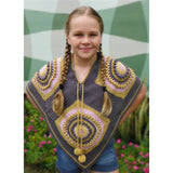 Free Project - Girl's Poncho