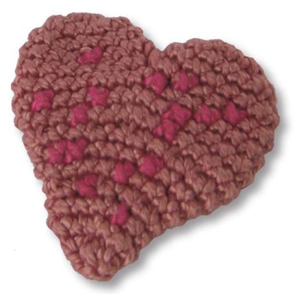 Free Project - Heart Brooch