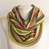 Free Project - It's all in a stripe Cowl