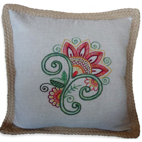 Free Project - Jacobean Cushion