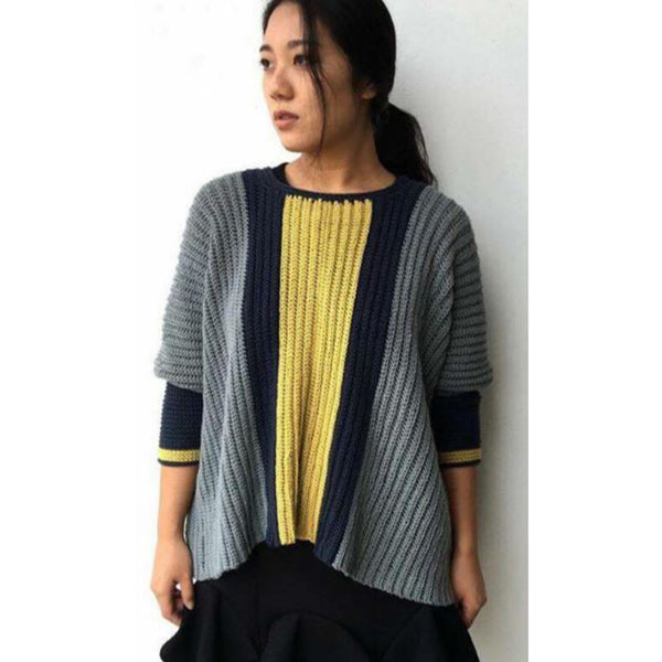Free Project - Jamper Poncho