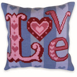 Free Project - LOVE letters Cushion