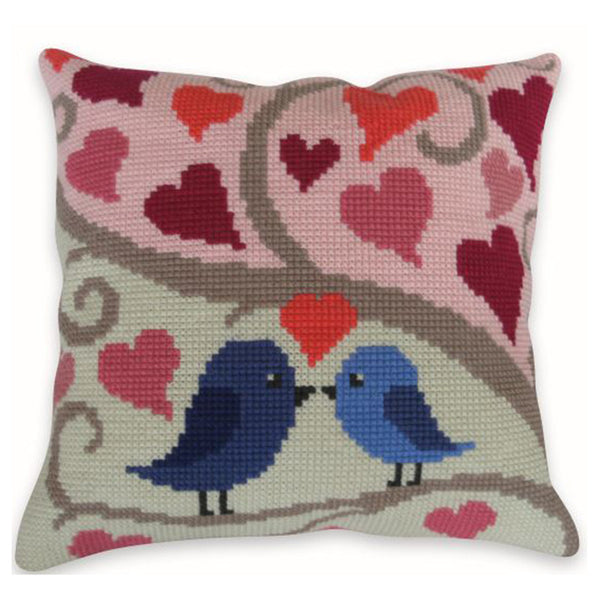 Free Project - Lovebird Duo Cushion