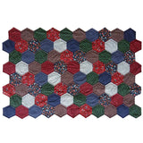 Free Project - Hexagon Picnic Quilt, Cumberland Country