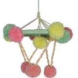 Free Project - Pom Pom Chandelier