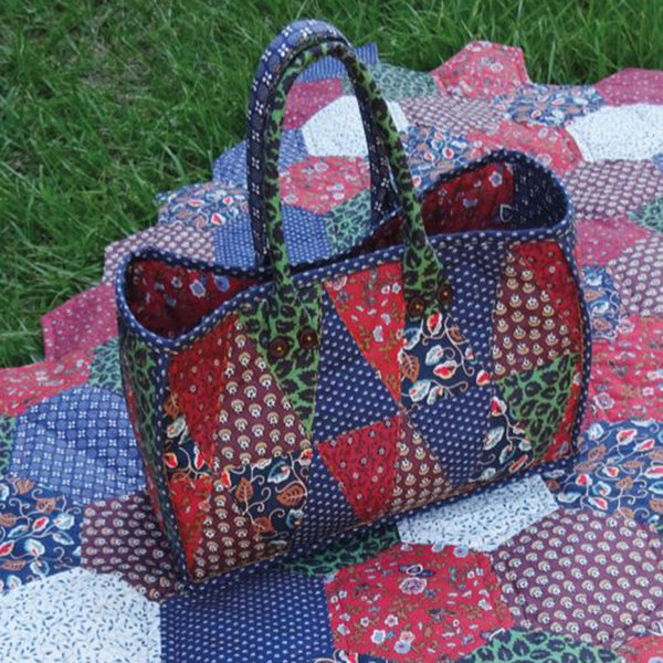 Free Project - Quilted Bag, Cumberland County