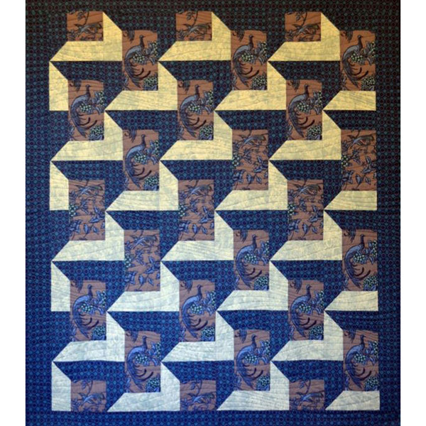 Free Project - Shadows Quilt, Florence Broadhurst