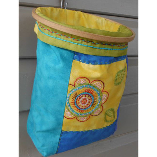 Free Project - Storage Bag with Flower
