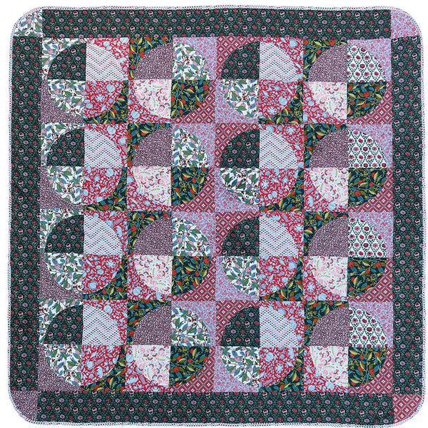 Free Project -  Liberty - Summer House - Quilt