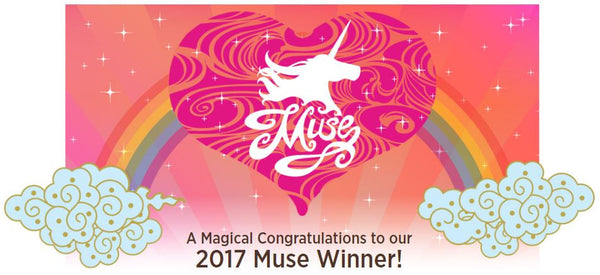 CONGRATULATIONS TO OUR 2017 MUSE WINNER!