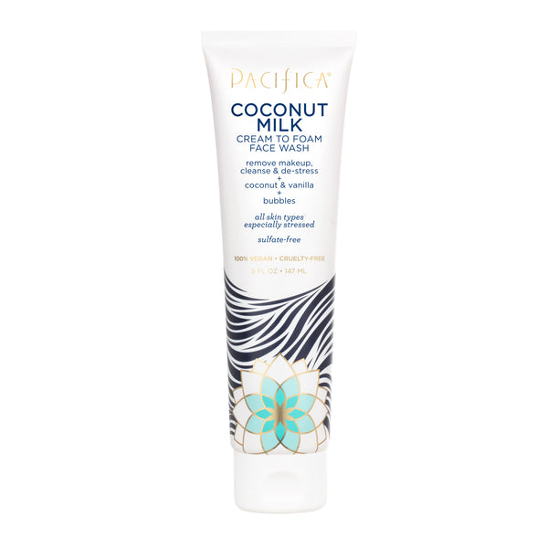 Coconut Milk Cream to Foam Face Wash - Skin Care - Pacifica Beauty
