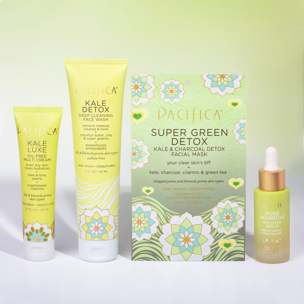 Kale Detoxing Skincare Bundle - Bundles - Pacifica Beauty