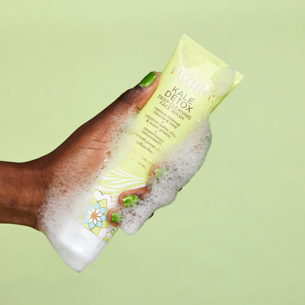 Kale Detox Deep Cleaning Face Wash - Skin Care - Pacifica Beauty