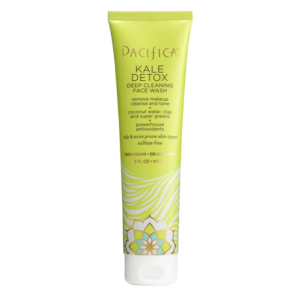 Kale Detox Deep Cleaning Face Wash-Skin Care-Pacifica Beauty