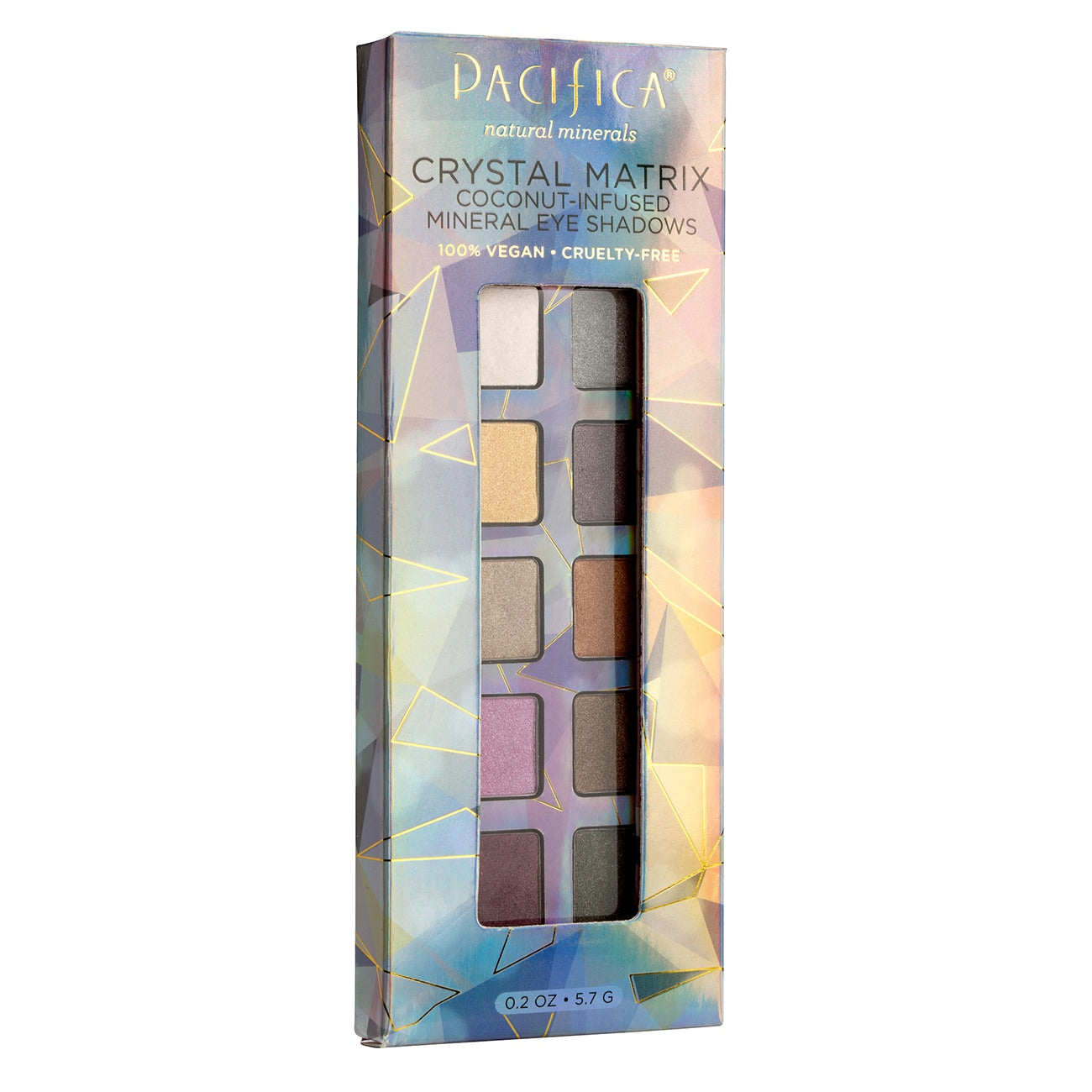 Crystal Matrix Mineral Infused Eyeshadows - Makeup - Pacifica Beauty