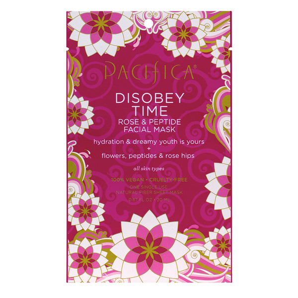 Disobey Time Rose & Peptide Facial Mask - Skin Care - Pacifica Beauty