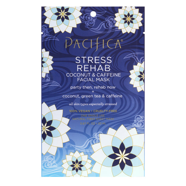 Stress Rehab Coconut & Caffeine Facial Mask - Skin Care - Pacifica Beauty