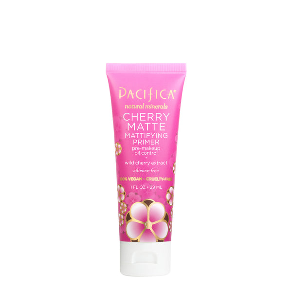 Cherry Matte Mattifying Primer - Makeup - Pacifica Beauty