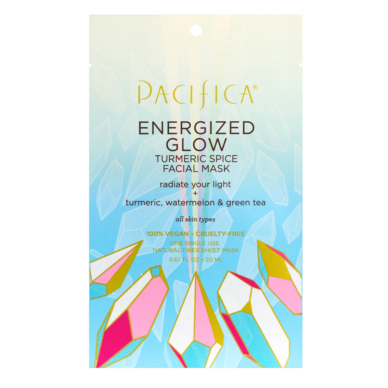 Energized Glow Turmeric Spice Facial Mask - Skin Care - Pacifica Beauty
