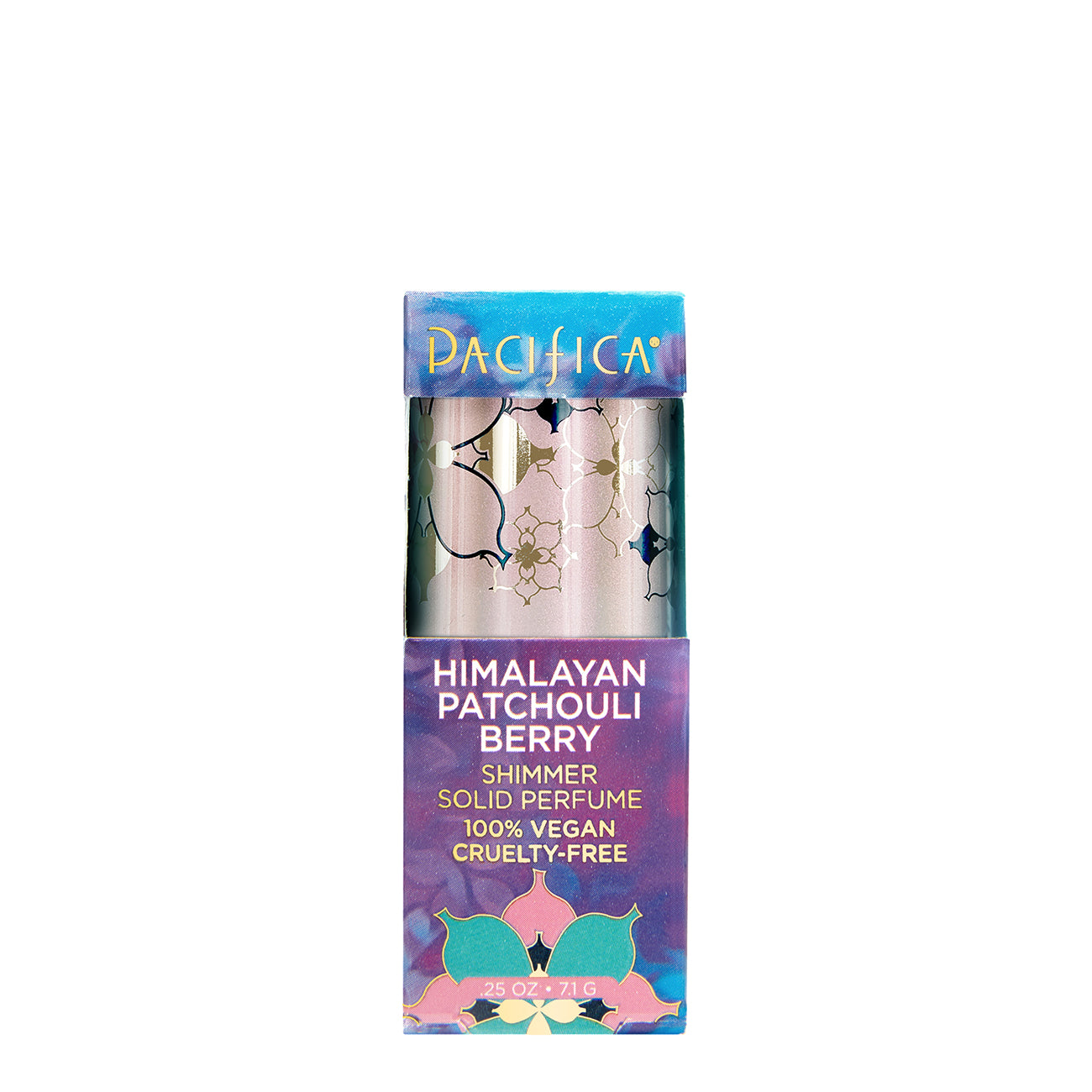 Himalayan Patchouli Berry Shimmer Solid Perfume - Pacifica