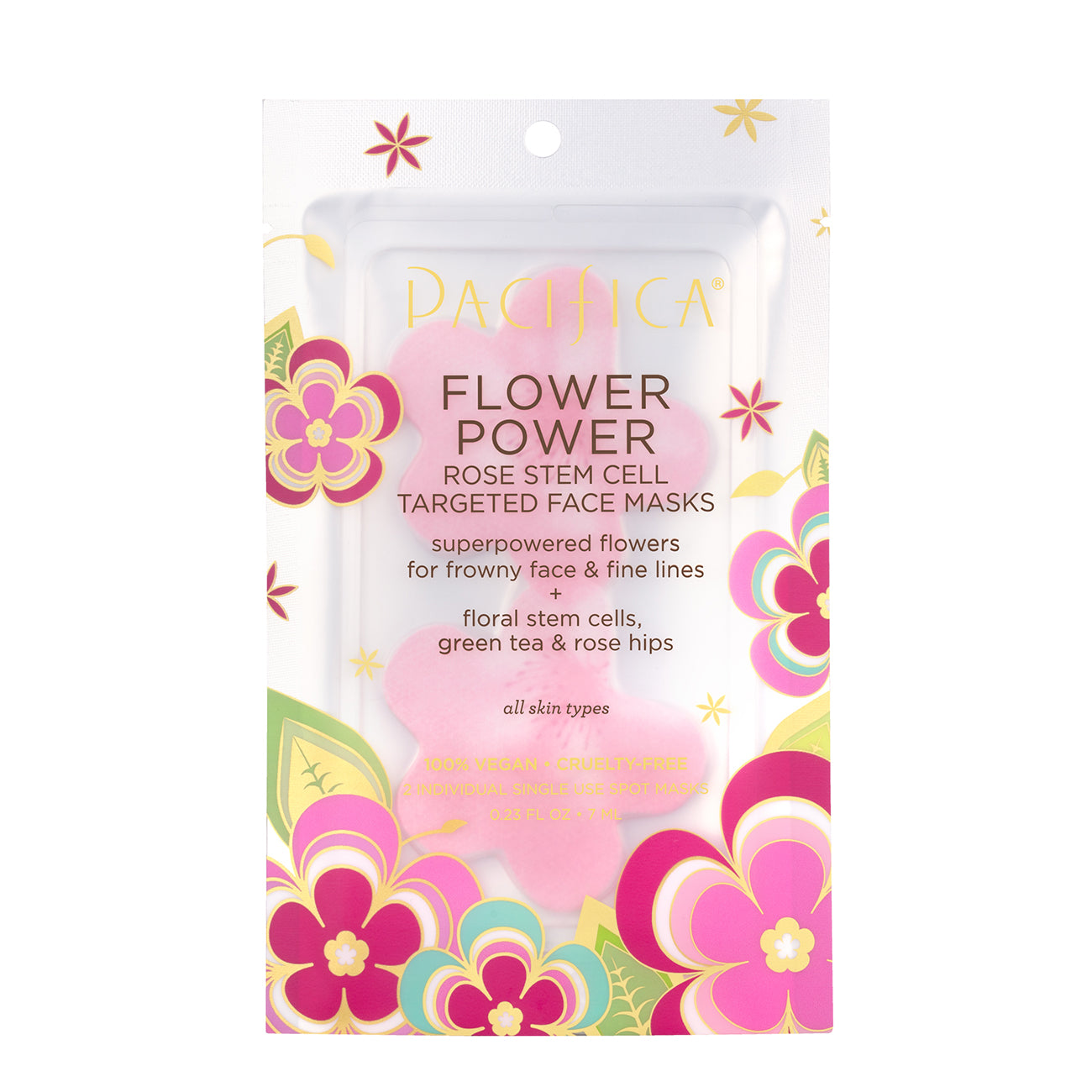 Flower Power Rose Targeted Face Masks - Skin Care - Pacifica Beauty