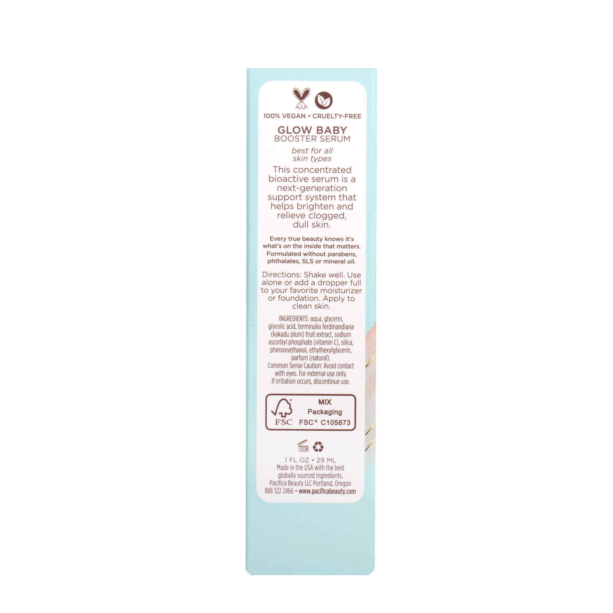 Glow Baby Super Lit Booster Serum - Pacifica