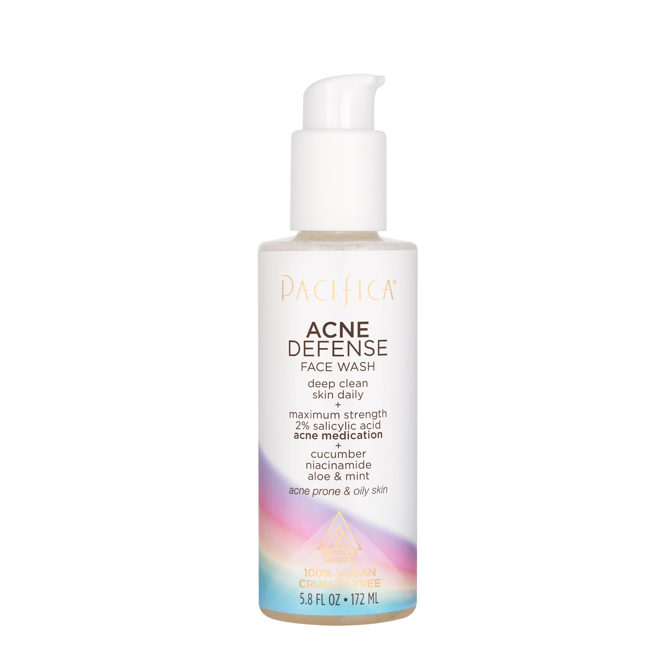 Acne Defense Face Wash - Skin Care - Pacifica Beauty