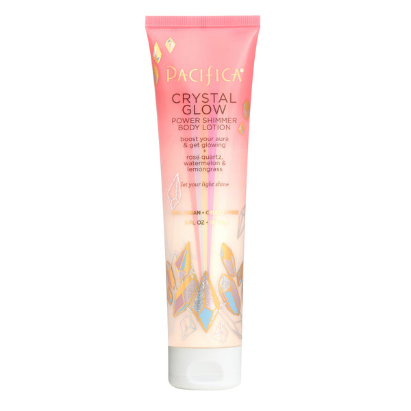 Crystal Glow Power Shimmer Body Lotion-Bath & Body-Pacifica Beauty