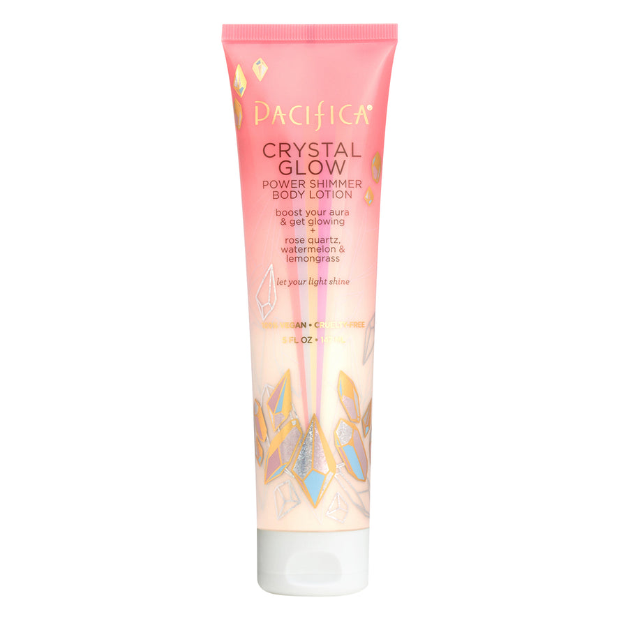 Crystal Glow Power Shimmer Body Lotion | Pacifica