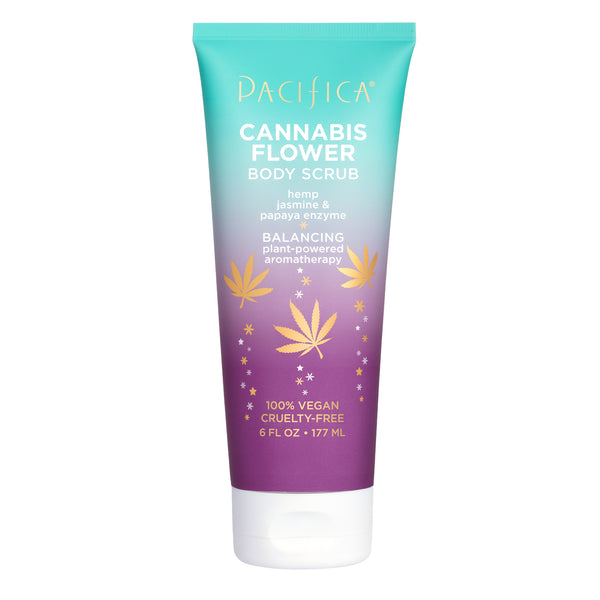 Cannabis Flower Body Scrub-Bath & Body-Pacifica Beauty