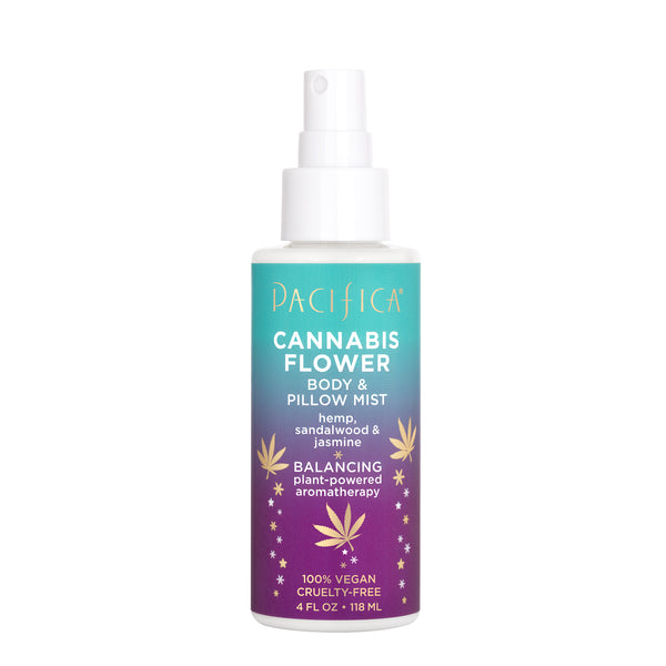 Cannabis Flower Body & Pillow Mist-Bath & Body-Pacifica Beauty