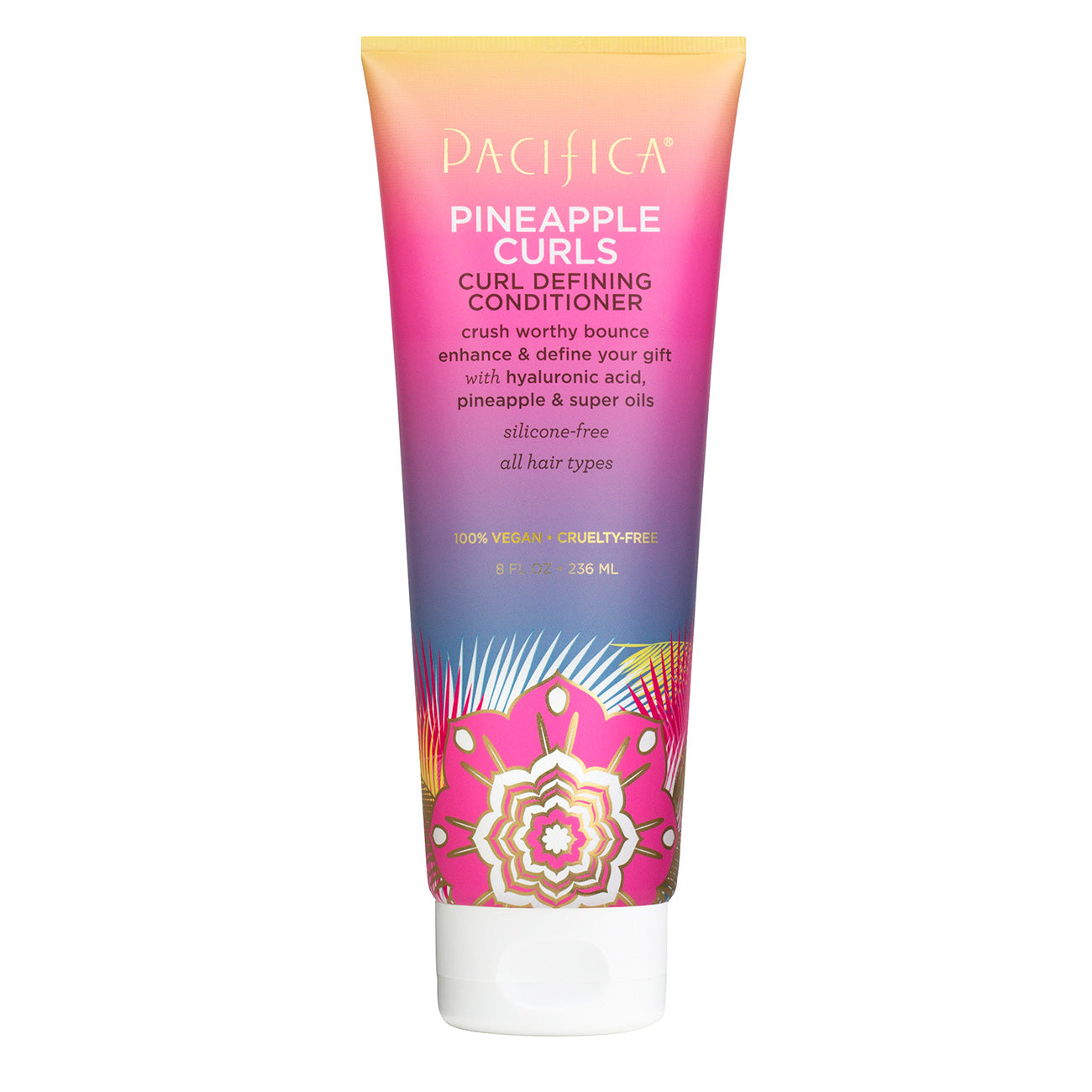 Pineapple Curls Curl Defining Conditioner - Haircare - Pacifica Beauty