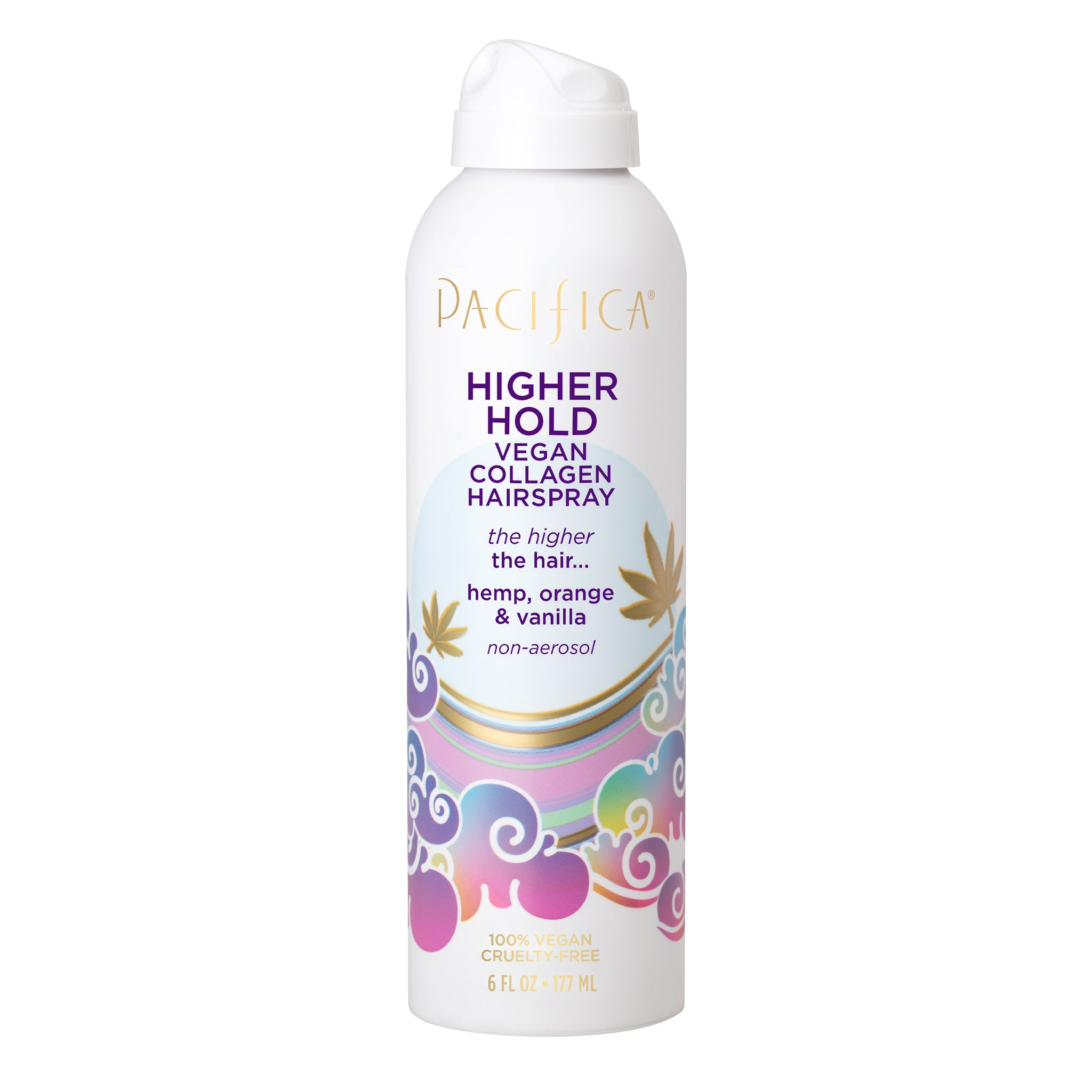 Higher Hold Vegan Collagen Hairspray - Haircare - Pacifica Beauty