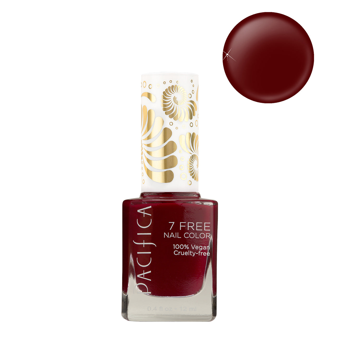 7 Free Nail Polish - Red Red Wine