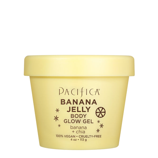 Banana Jelly Body Glow Gel - Bath & Body - Pacifica Beauty